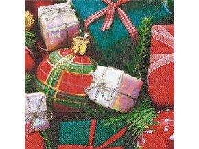 Vánoční ubrousky