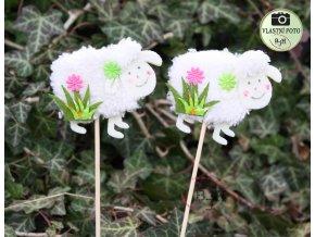 Jarní dekorace zápich